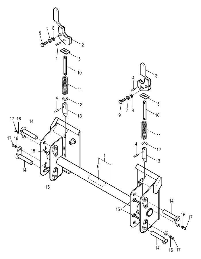 Bush Hog M246midmountloader Parts M246midmountloader Skid Steer