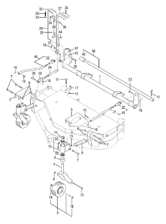 bush hog zt 18 18hp kohler engine parts zt 18 18hp kohler engine 48 Kohler Magnum 18 Diagram notes
