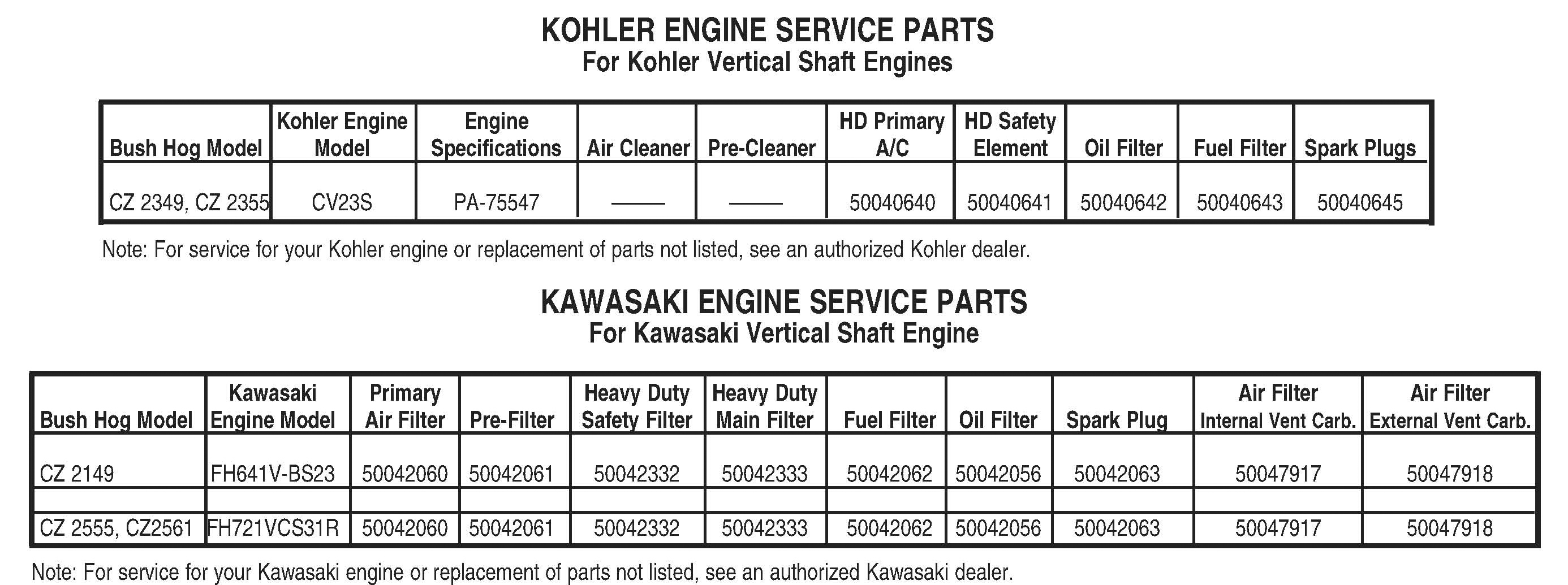 Kohler Engine 6 4 Cz Electrical Diagram Bush Hog Commercial Series Zero Turn Mowers Parts Hover Over Image For Expanded View