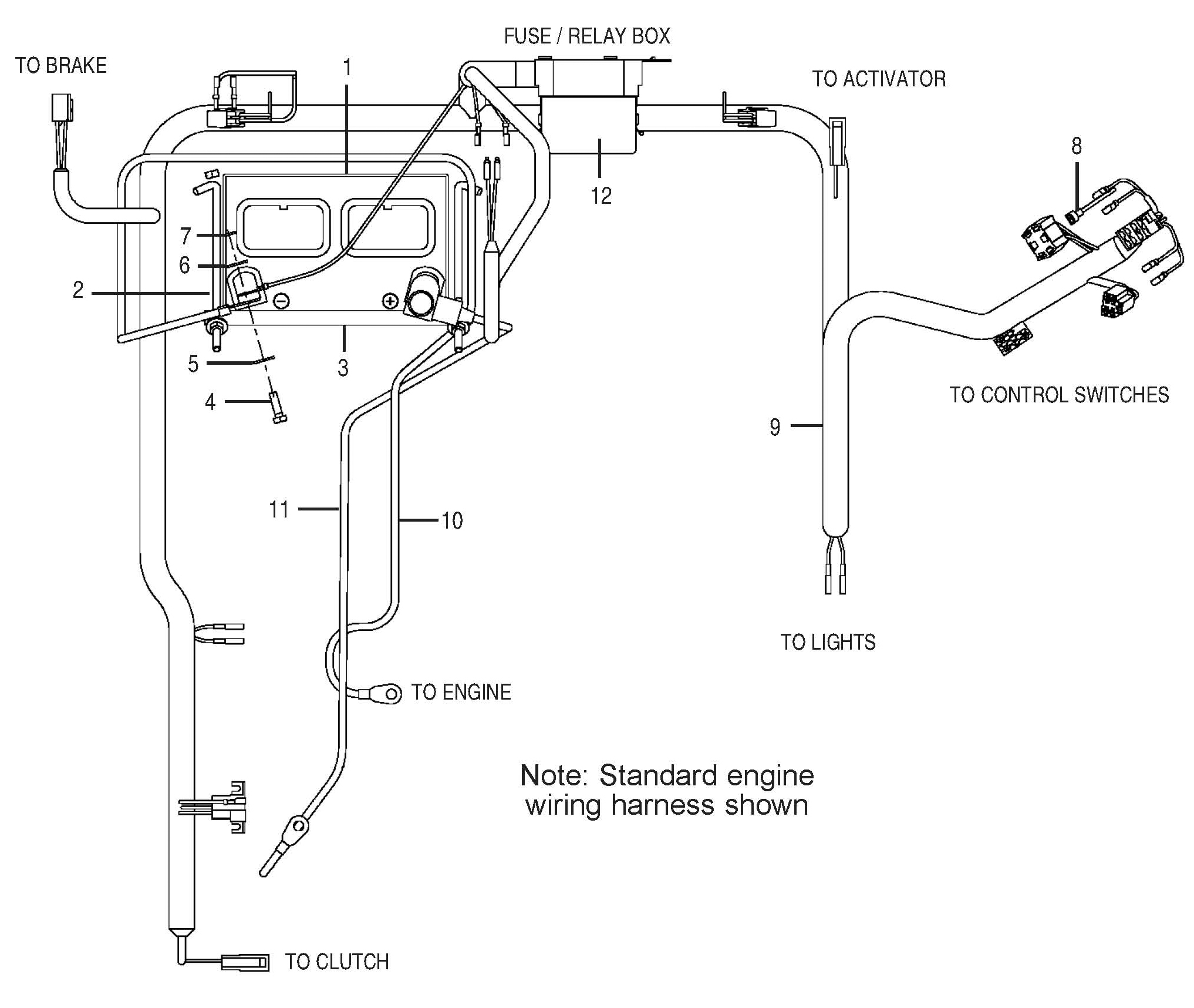 Standard Engine Diagram Bush Hog Pz Professional Series Zero Turn Mowers Parts Hover Over Image For Expanded View