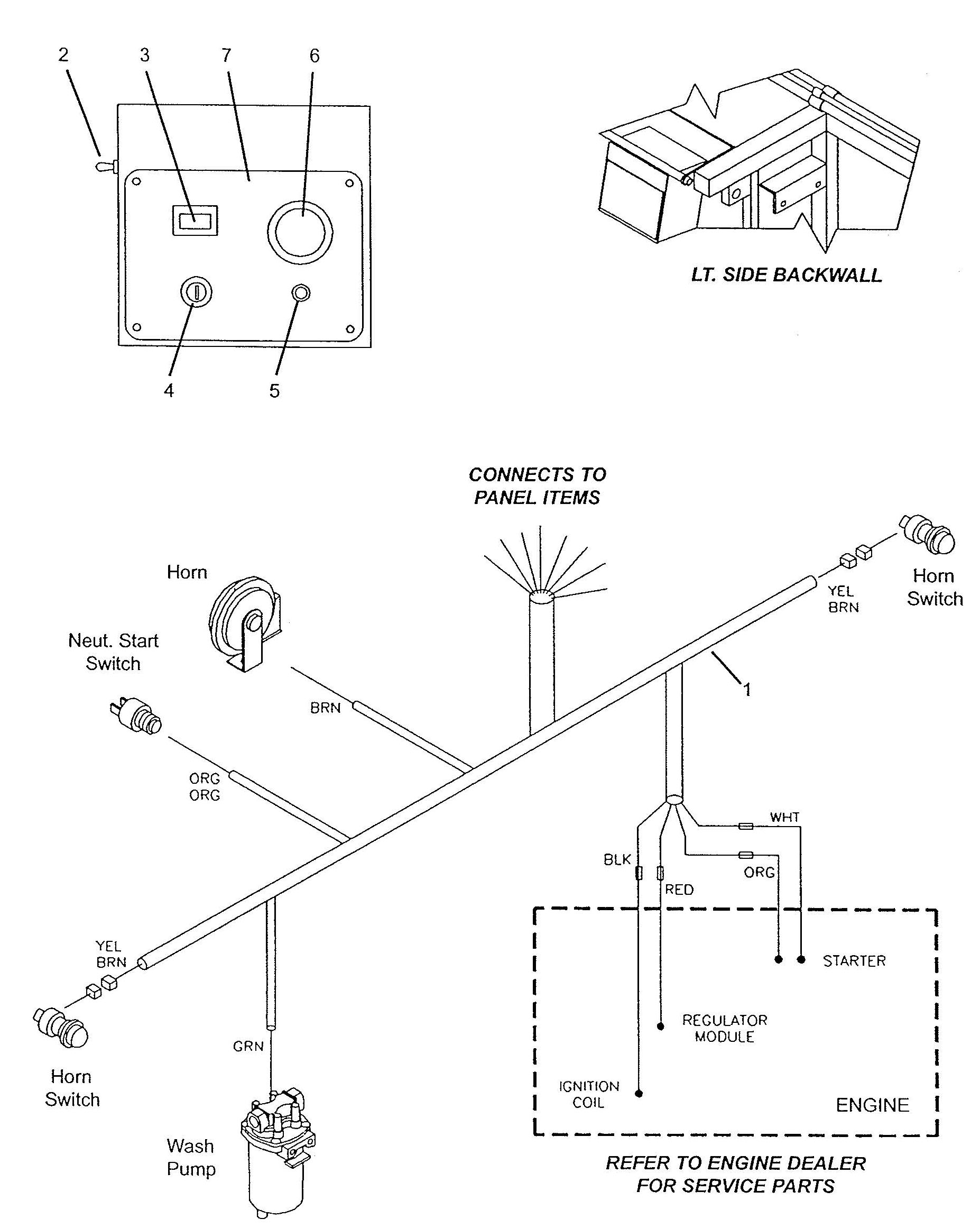 Gehl Power Box Self Propelled Paver 1639 1649 Chassis Wire Harness Hooks Hover Over Image For Expanded View