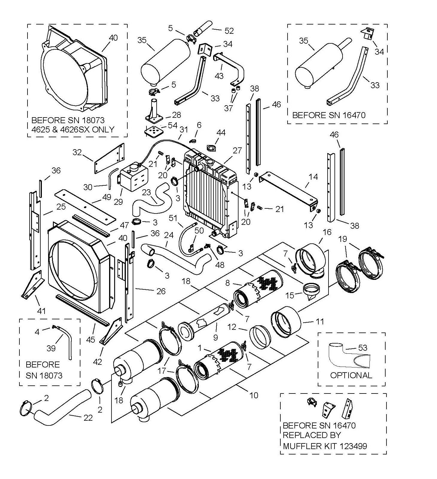 Gehl 2500 Engine Replacement