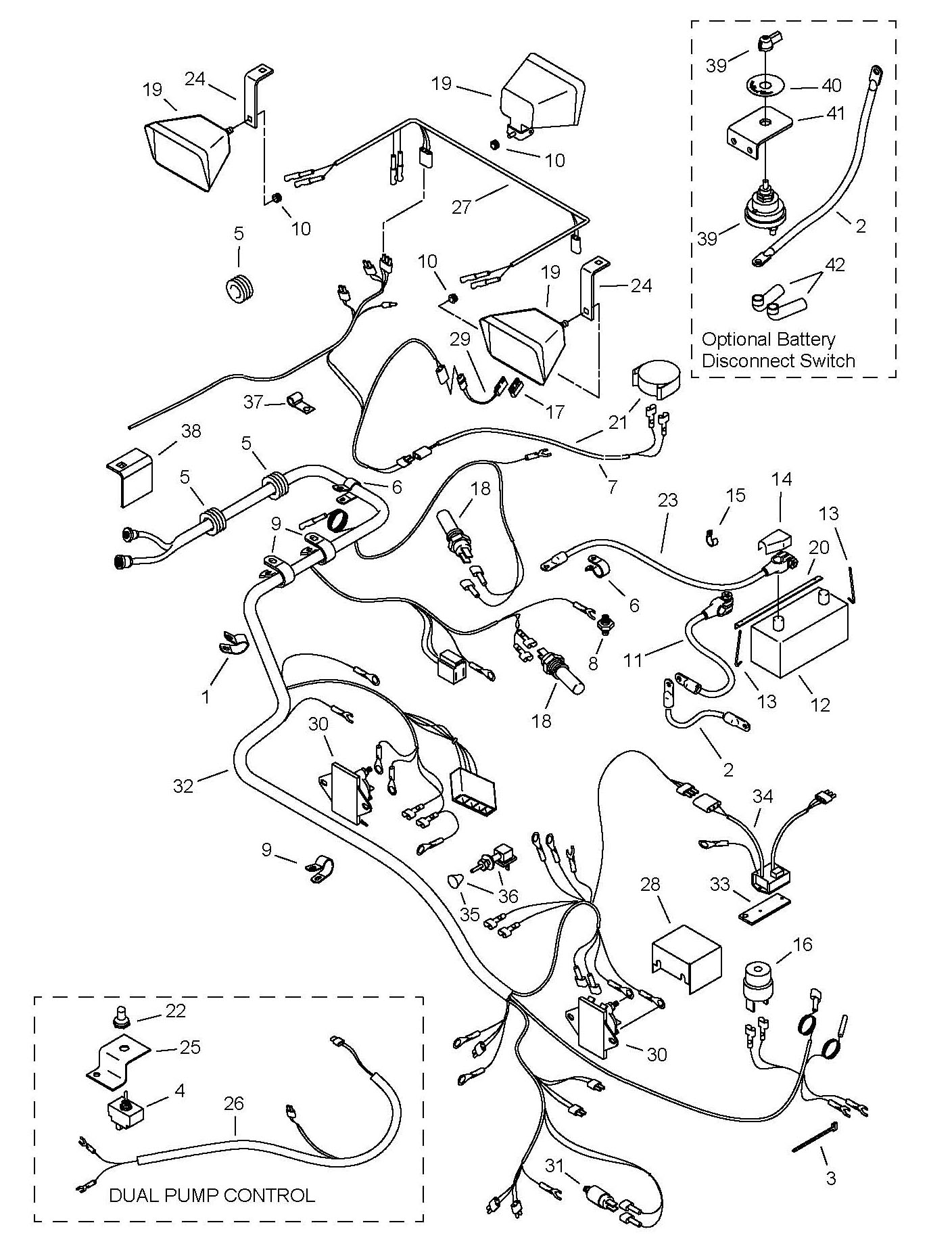 gehl skid loader 4525 4625 4525 4625 sl4625 wiring electrical hover over image for expanded view
