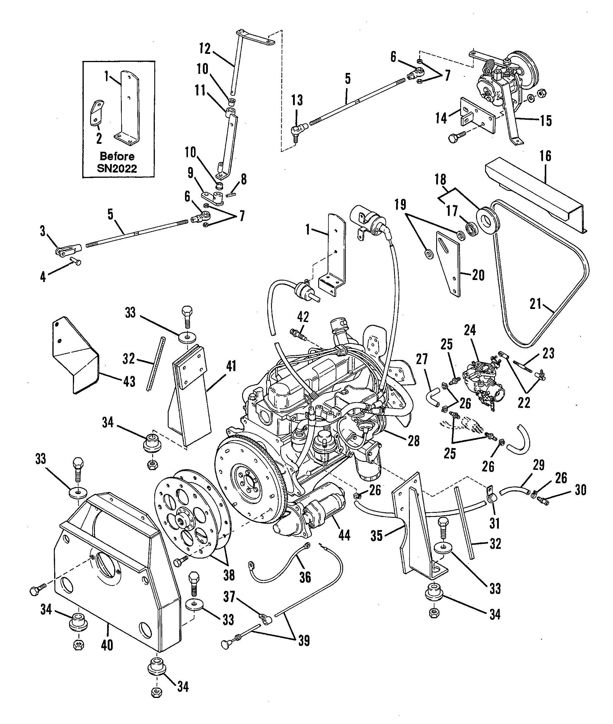 Gehl Skid Loader 3510 3610 Sl3510 Only Gas Engine Wiring Diagram Notes