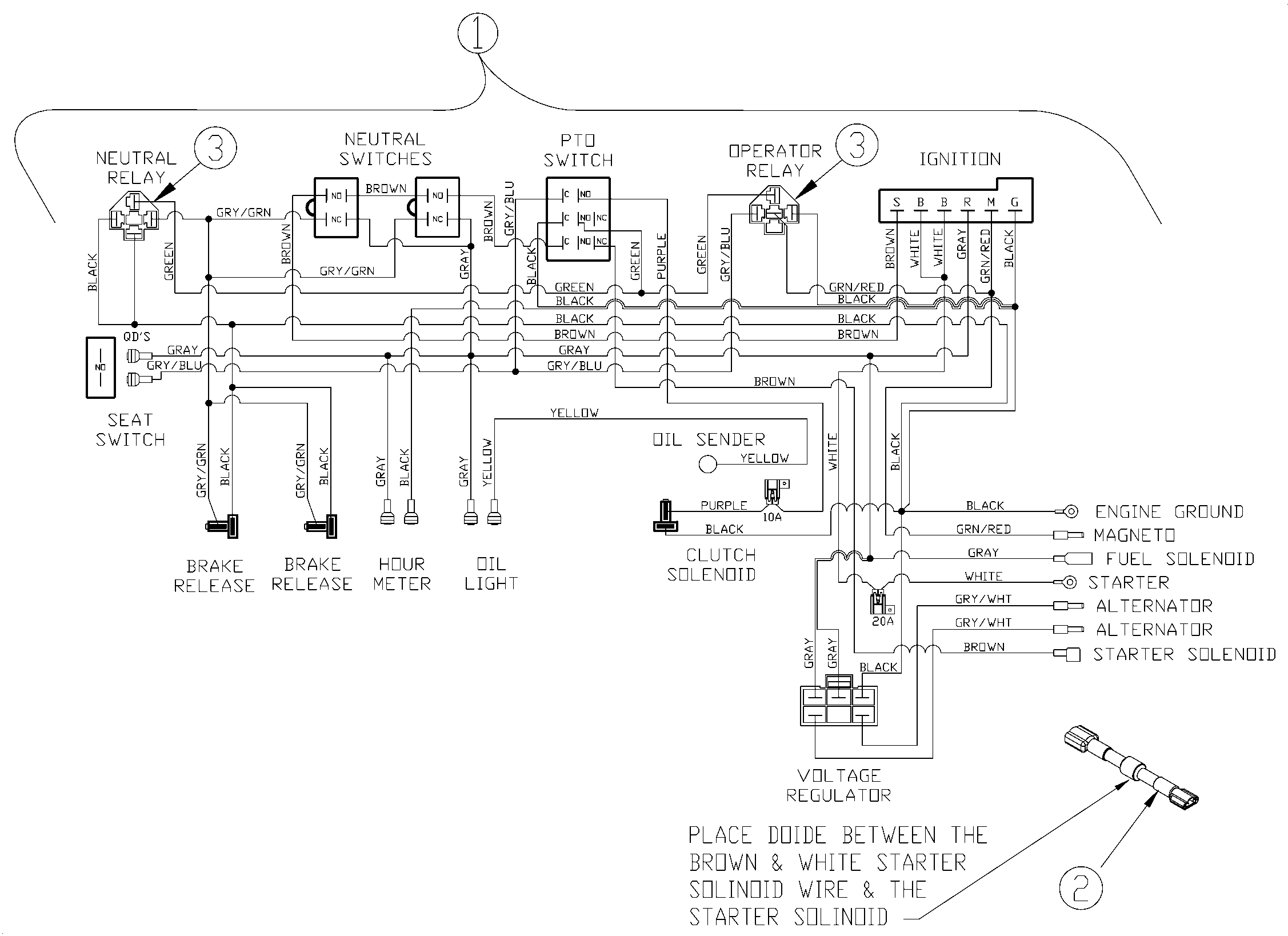 Starter Solenoid Relay Diagram