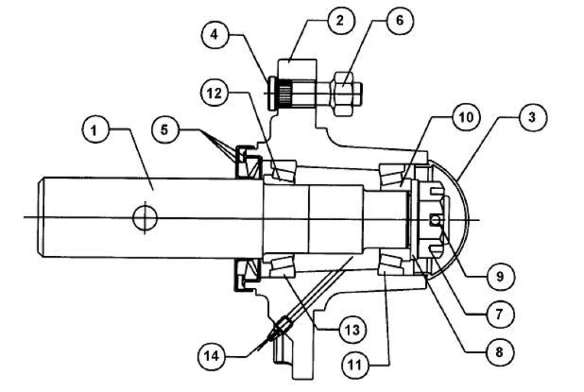 Servis Rhino Turbo 120 Sn10200 Current Rotary Cutter Hub Assembly Diagram Hover Over Image For Expanded View
